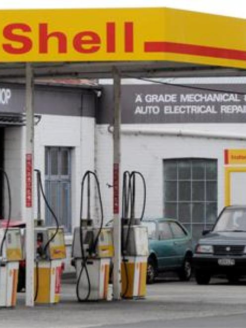 Instone Motors, in Castle St, Dunedin. Photo by Gerard O'Brien.