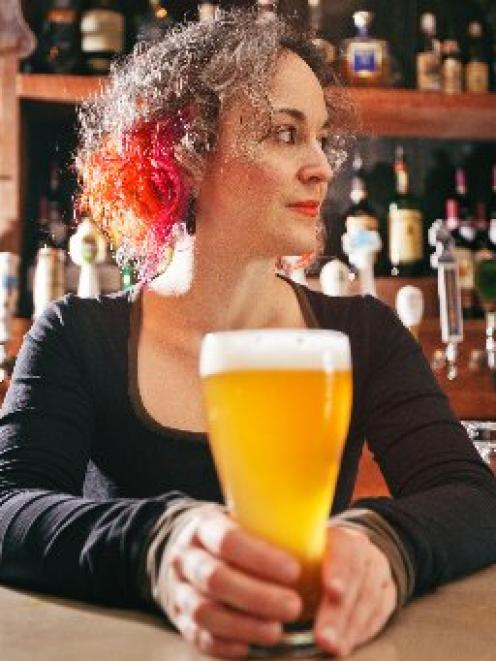 International beer expert Mirella Amato is looking forward to trying some Dunedin beers. Photo by...