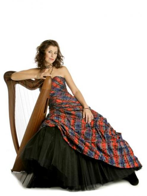 International Scottish singing and harp  star Katie Targett-Adams, of Hong Kong, will give an...