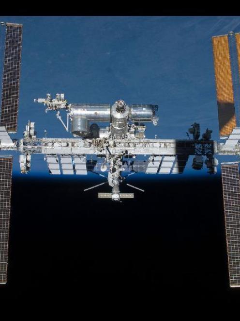 International Space Station. Photo from NASA.
