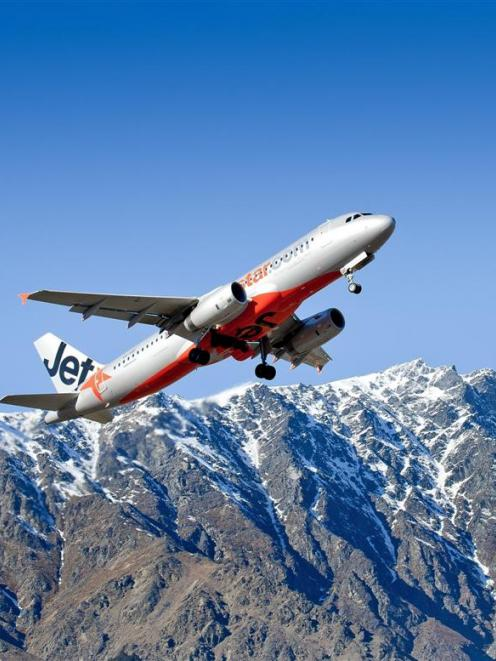 International visitor movements at Queenstown Airport continue to climb. Photo supplied.