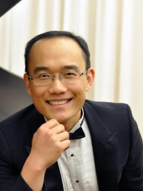 Internationally recognised pianist Jian Liu will play a concert in Cromwell next week. Photo...