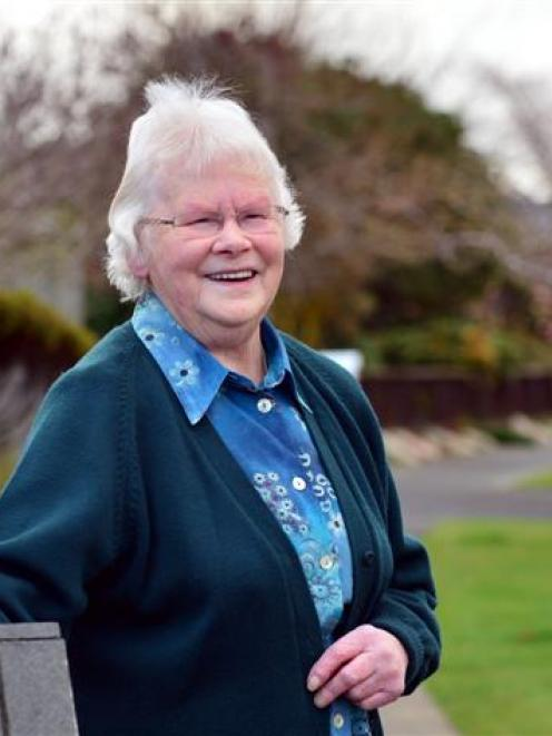 Irene Brown (82), of Mosgiel,  at 104b Church St, where she has lived for 20 years. Mrs Brown...