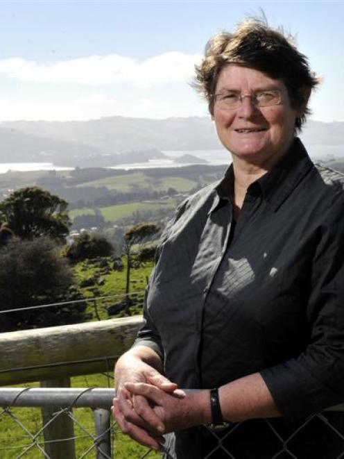 Irene Scurr, who is retiring after nine years as chairwoman of the Otago Peninsula Community...