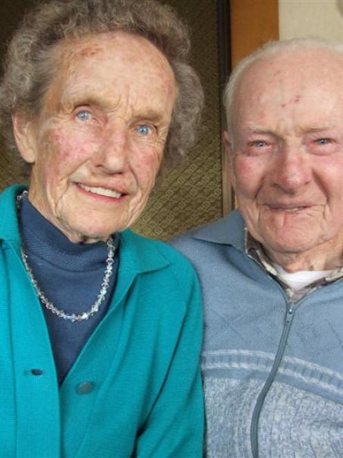 Iris and Kevin Howard celebrate their 60th wedding anniversary today. Photo by Sally Rae.