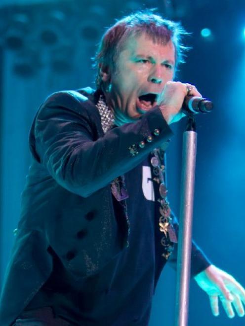 Iron Maiden's Bruce Dickinson. Photo Getty