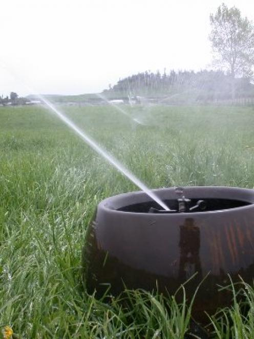 Irrigation has changed the face of North Otago farmland. Photo by David Bruce.