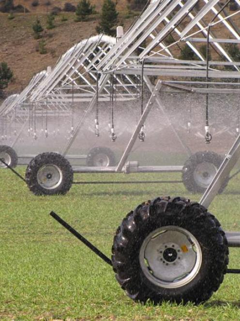 Irrigation projects from North Canterbury to North Otago will help fill any economic downturn...
