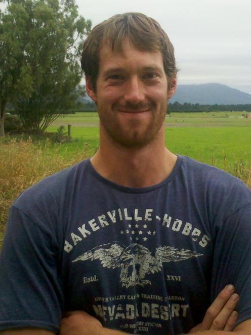 Isaac Vujcich was named Canterbury/North Otago Trainee of the Year in the region's dairy industry...