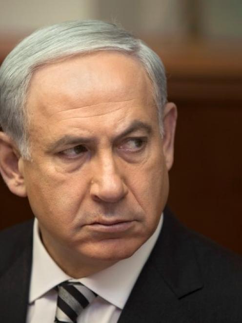 Israeli Prime Minister Benjamin Netanyahu. Photo Reuters