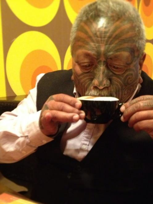 Iti tweeted this pic of himself enjoying a cappuccino following his release from prison this...