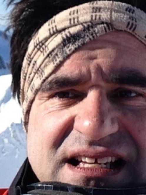 Ivan Molina-Trigueros says Ohakune skiers Scott Nation and Darren Corowa saved his life on Mt...