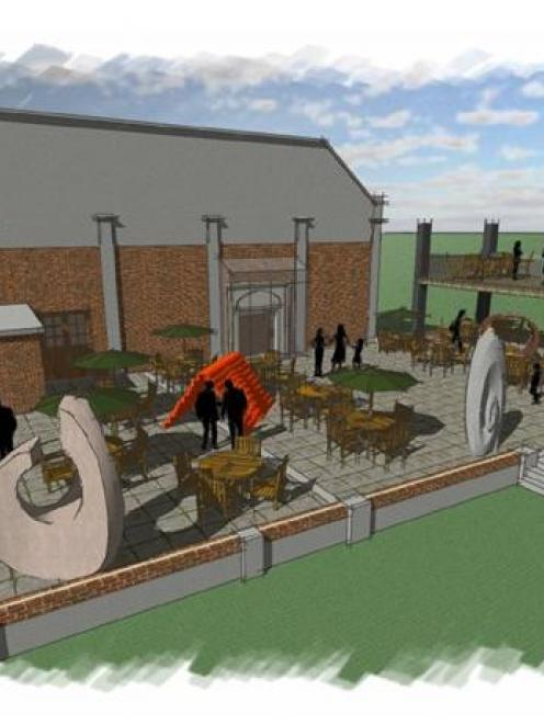 Jackie Gilles' plans for the new-look former art gallery include The Sargood Sculpture Terrace at...