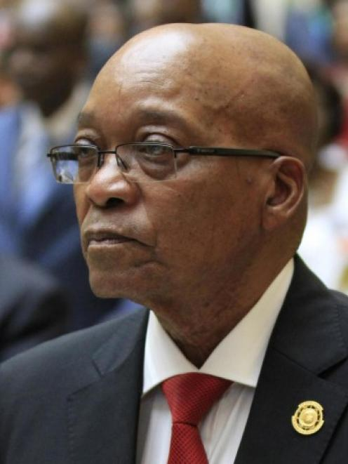 Jacob Zuma. Photo Reuters