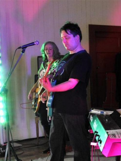 Jane Dodd and Martin Phillipps perform in a Chills reunion concert last year. Photo by Gerard O...