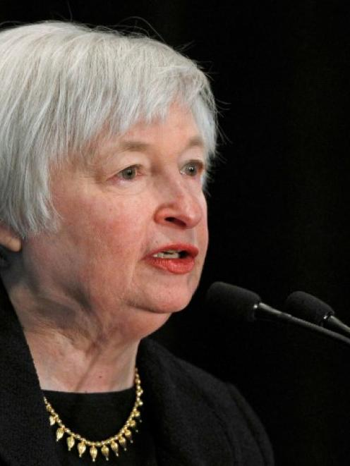 Janet Yellen. Photo Reuters