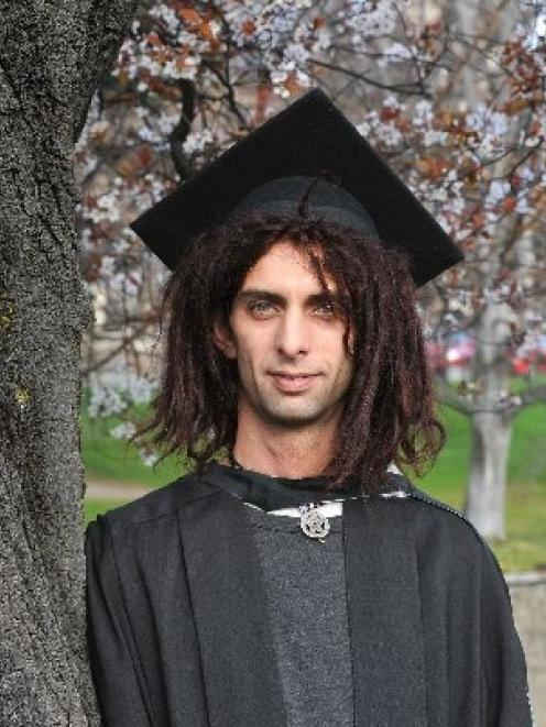 Jason Ushaw prepares for the University of Otago graduation day he once thought would never...
