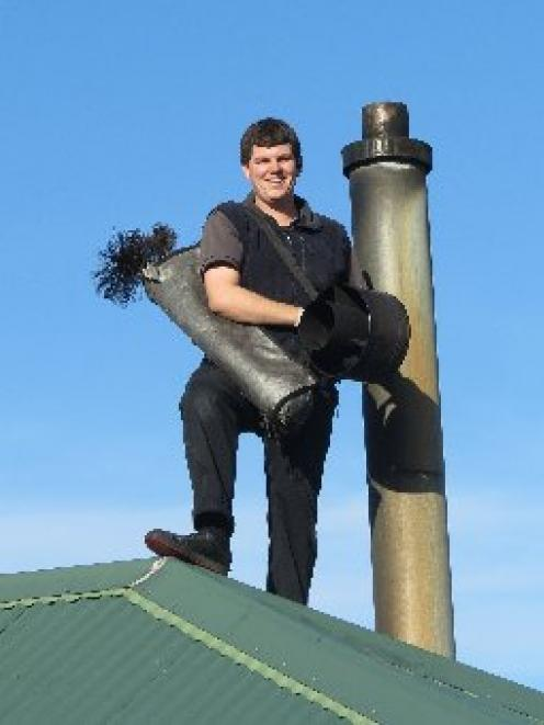 Jay McPhee, of Extreme Clean, is urging people to make sure they get their chimney checked and...