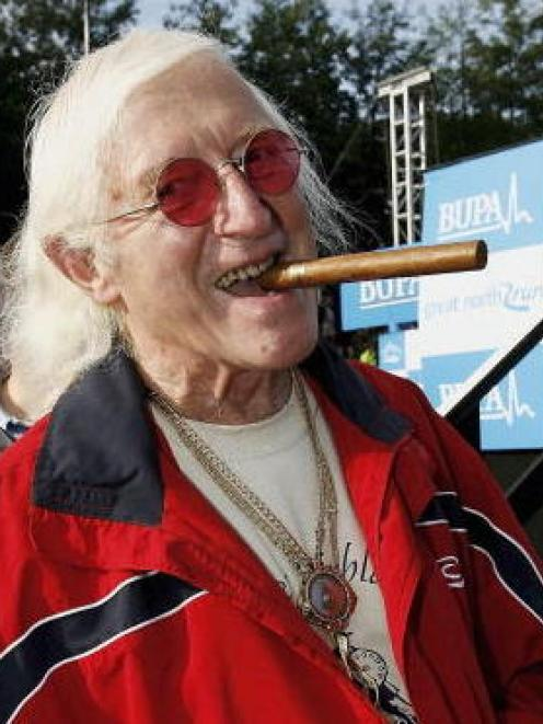 Jimmy Savile. Photo Getty