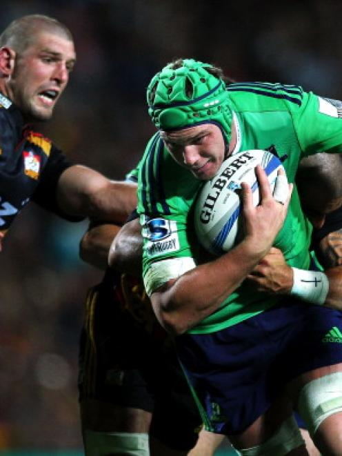 Joe Wheeler is arguably the Highlanders' most reliable lock, writes Jeff Cheshire.