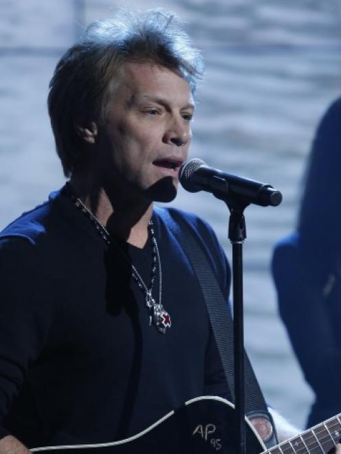 John Bon Jovi. Photo Reuters