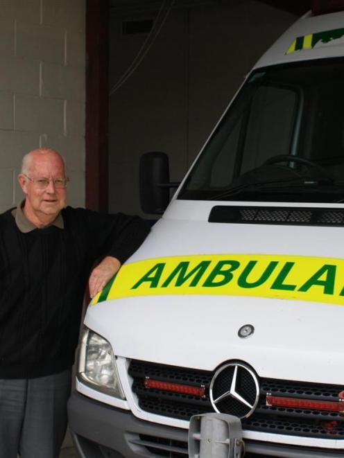 John Hanrahan is looking forward to celebrating the 50th anniversary of Mosgiel St John Ambulance...