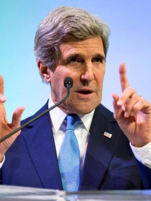 John Kerry: 'In a sense, climate change can now be considered another weapon of mass destruction,...