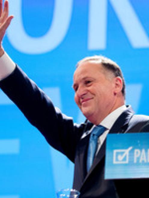 John Key. Photo NZ Herald