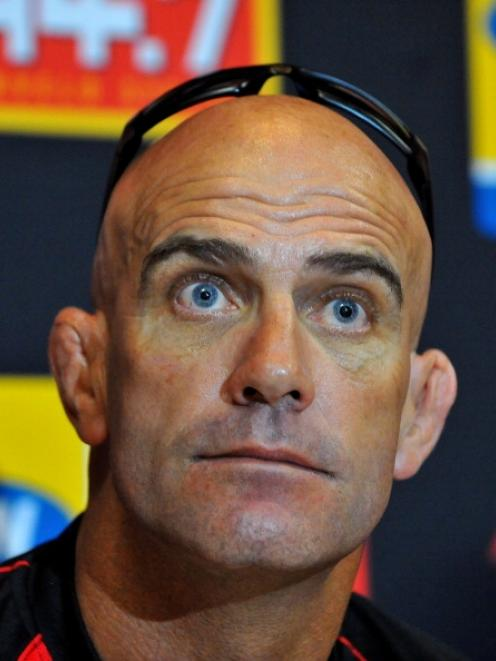 John Mitchell: 'There is some unfinished business to do with the Lions.' Photo Getty