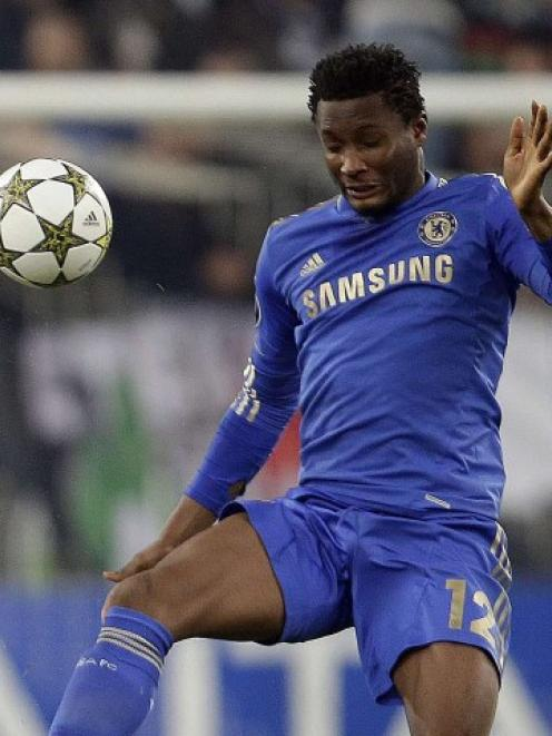 John Obi Mikel. Photo Reuters