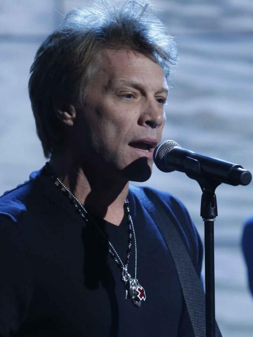 Jon Bon Jovi. Photo by Reuters