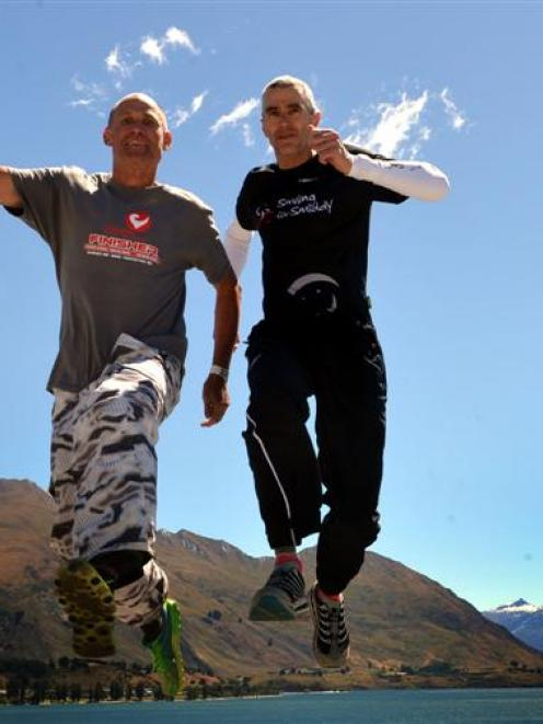 Jonathan Simpson (48, left) and Mark Smoothy (51), who have both competed in every Challenge...