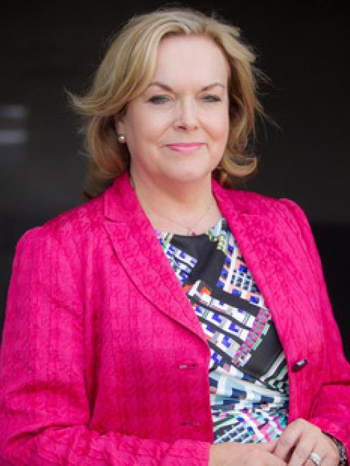 Judith Collins blames the Labour Party for leaking the report. Photo: NZ Herald/Michael Craig