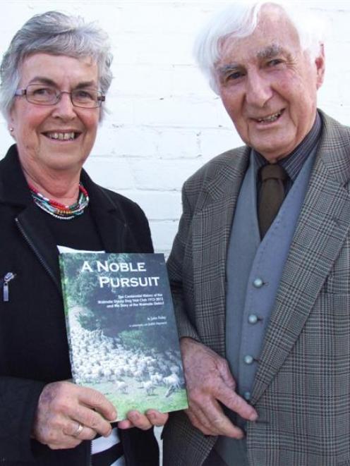 Judith Hayward and John Foley at the launch of ...
