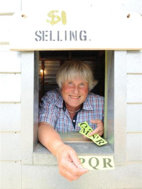 Judy Muir has spent the past 20 years running the equalisator betting system at the annual summer...