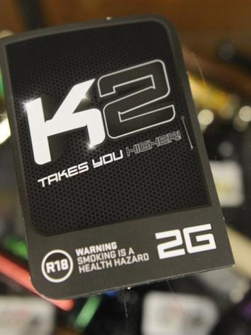 K2, a synthetic cannabis drug blamed for a string of problems.  Photos from ODT files.
