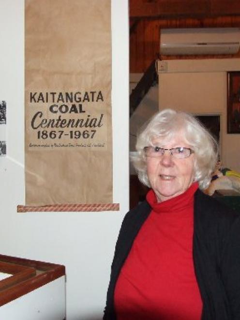 Kaitangata Black Gold Heritage Museum Centre secretary Irene Sutton is looking for a black coal...