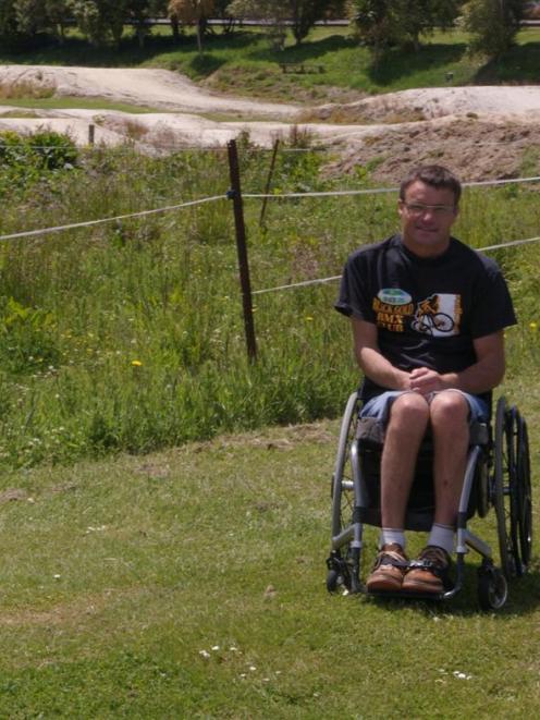 Kaitangata Skate Park Development Group chairman Dallas Storer says a $20,000  grant from the...