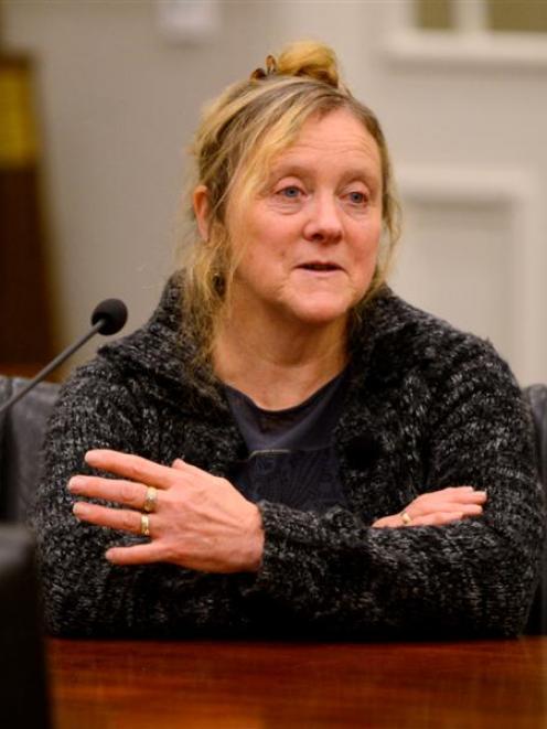 Karen Hansen describes her decade-long fight against a gambling addiction. Photo by Gerard O'Brien.