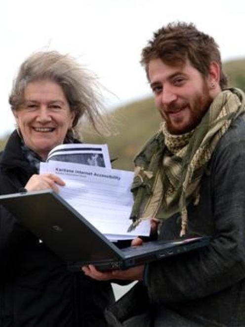Karitane business owners Sue O'Neill and Jacob Conway have launched a petition asking the...