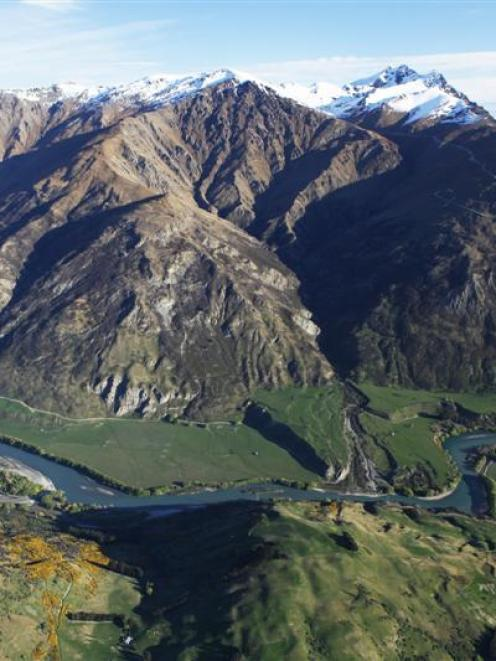 Kawarau River Station, one of the Wakatipu's largest freehold sites, is for sale. Photo supplied.