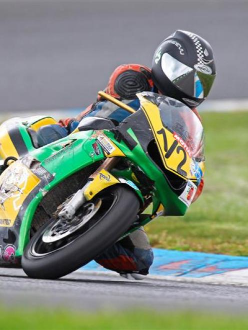 Kempster in action on the racetrack. Photo supplied.