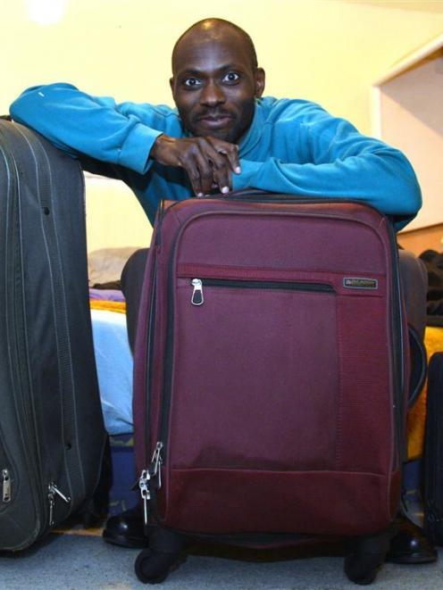 Kenyan-born University of Otago PhD researcher Bonface Manono prepares to return to his home...