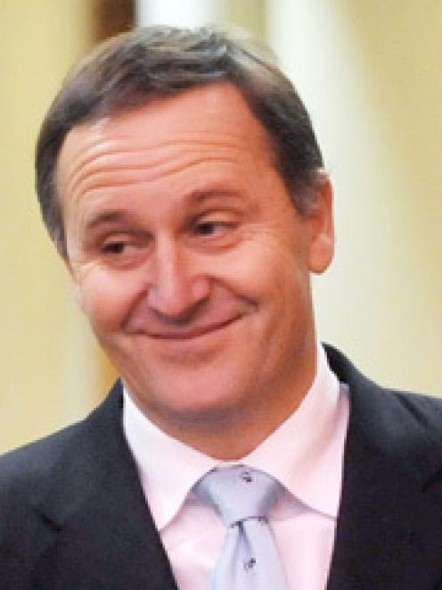 National Party leader John Key