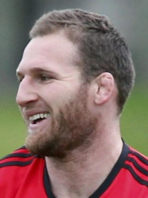 Kieran Read, a key man for the Crusaders, as player and leader.