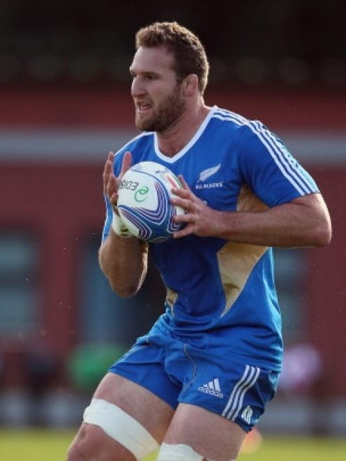 Kieran Read. Photo by Getty