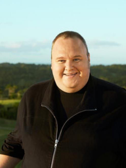 Kim Dotcom. Photo / Charles Howells