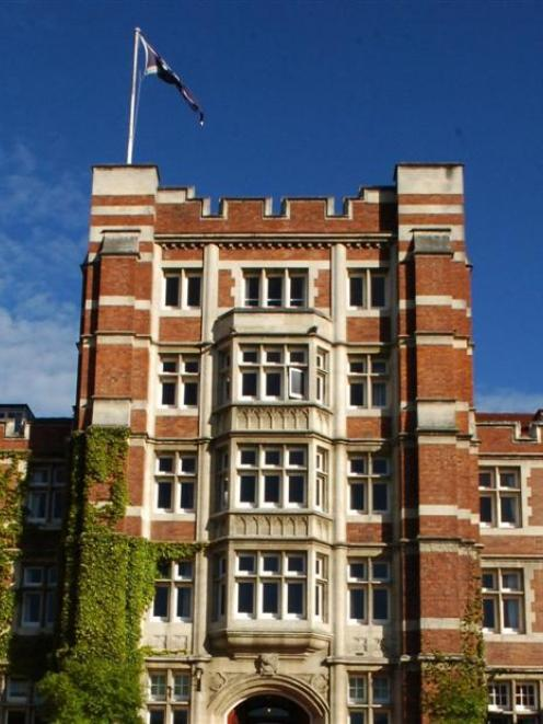 Knox College has funding for earthquake-strengthening. Photo by Gregor Richardson.