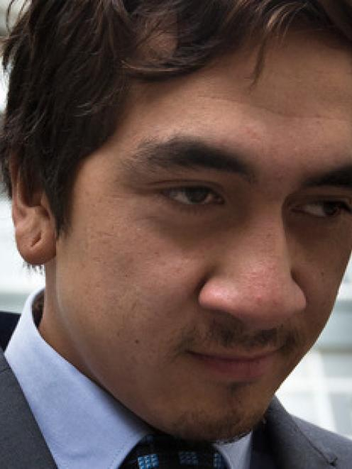 Korotangi Paki leaves the Auckland District Court. Photo: NZ Herald/Brett Phibbs