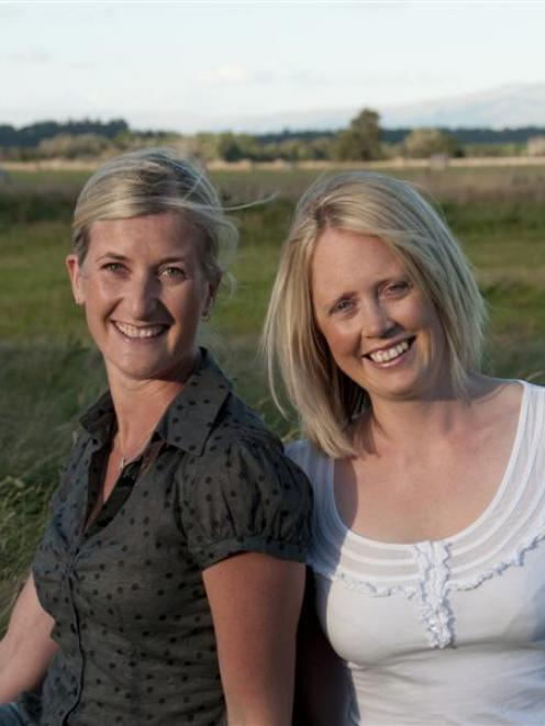 Kylie Davidson (left) and Emma Hammond, from Hammond Davidson accountancy firm in Riversdale....